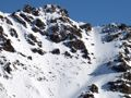 Ptarmigan couloirs.  The tight steep shot off the W Summit looks spicy.