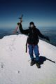 On the summit of Mt. Blanc - Summer 1996.