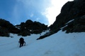 Ascending the Couloir