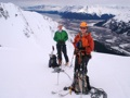 Top of Explorer Glacier