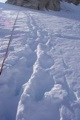 This is what our boot track looked like!