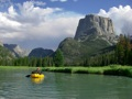 Packrafting out the Green River