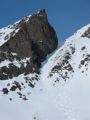 SW Couloir of Peeking