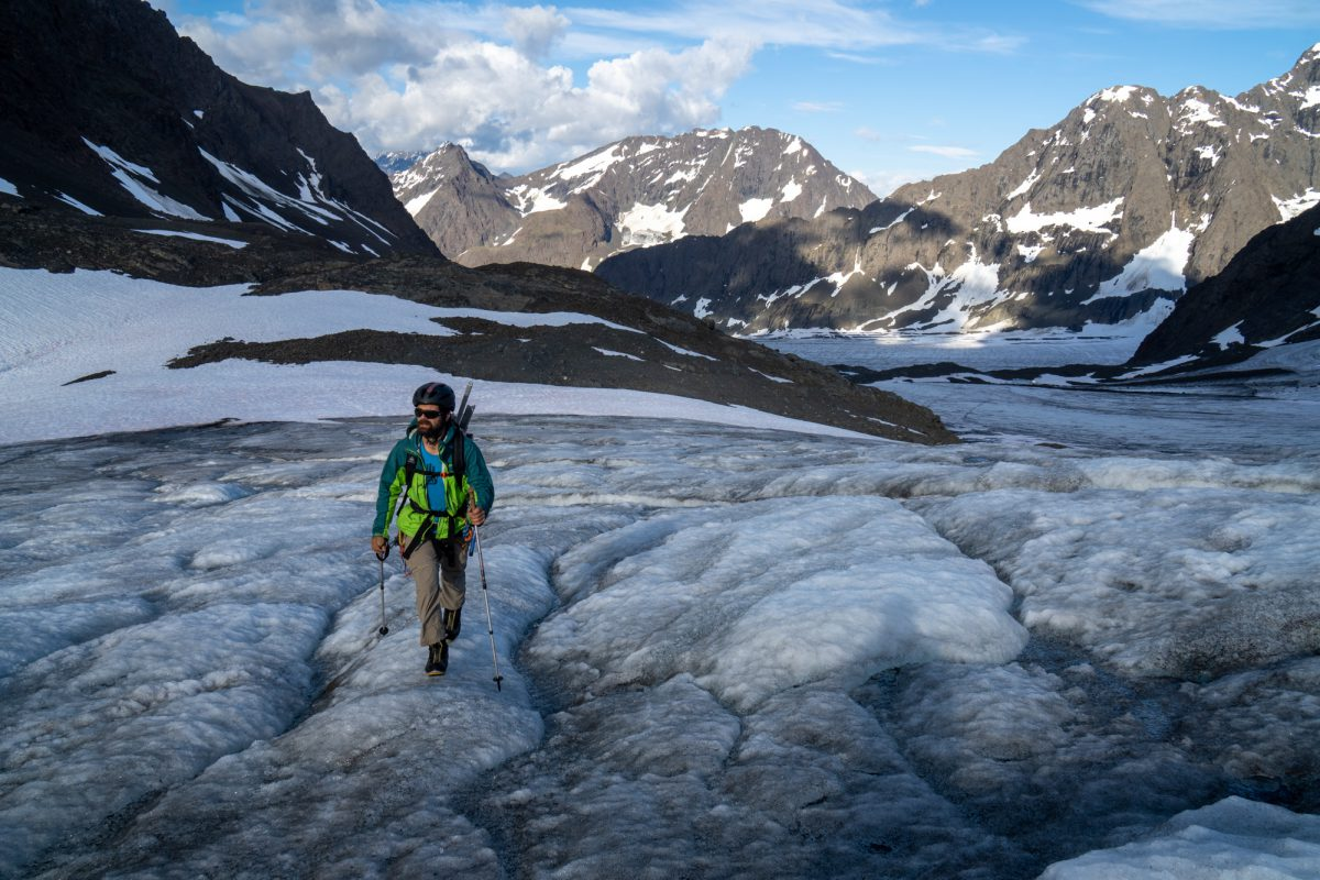 Approaching the Northwest Glacier.